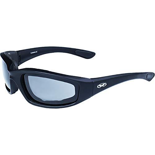 Global Vision Eyewear Occhiali da Sole a contraccolpo con Schiuma Eva, Lente Color Fumo