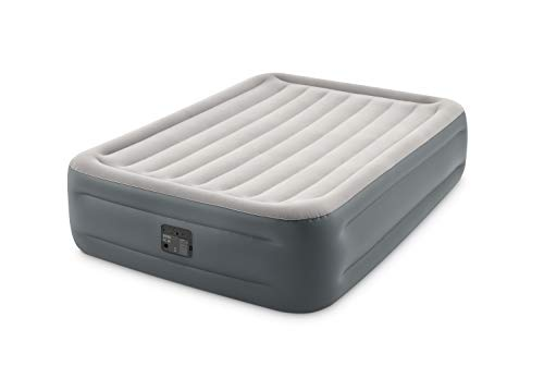 Intex Essential Rest Dura-Beam Plus Queen 230 V Luftbett, Grau, Gross