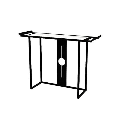 FUFU Mesa Pequeña Sofá Moderno O Mesa De Entrada, Mesa De Consola, Marco De Metal, Patas Resistentes, Ajustables, para Sala De Estar, Pasillo