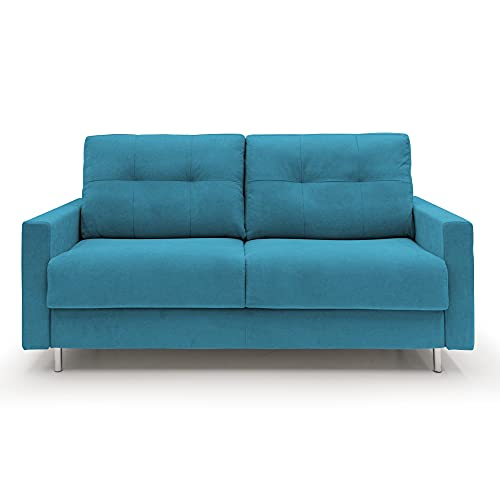 Fluffy - Sofá cama de matrimonio de 2 plazas y 3 plazas de tela