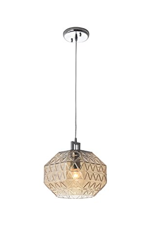 Shishengyu H-2005 One-Light Indoor Pendant Light with Handmade Art...