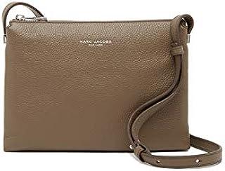 Marc Jacobs Leather Crossbody Bag Stone Grey