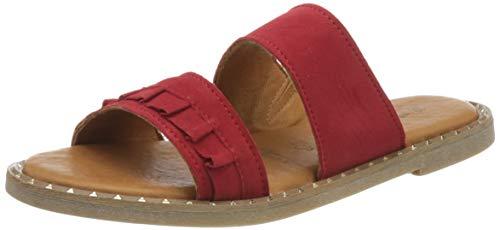 Tamaris Damen 1-1-27105-24 Pantoletten, Rot (Red 500), 38 EU