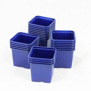 Godet pour semis 8 x 8 x 7 cm BLEU-F (x100)