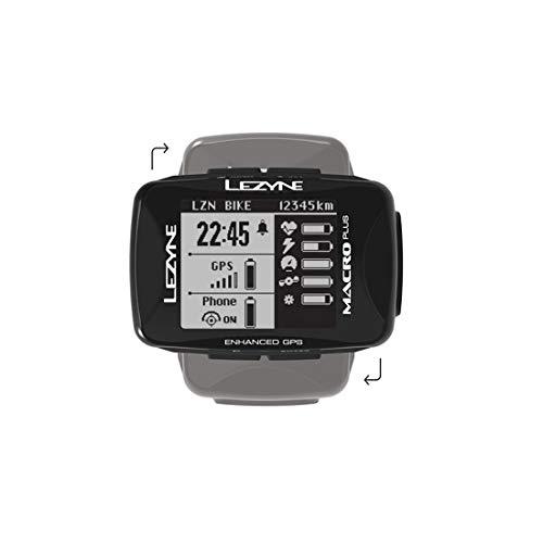 LEZYNE(レザイン) MACRO PLUS GPS (マクロプラス)サイクルコンピューター