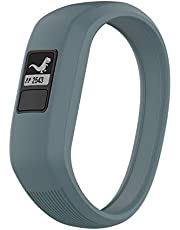 TopTen Zachte siliconen horlogeband vervanging polsband, armband armband armband compatibel voor Garmin Vivofit JR/Vivofit JR 2/Vivofit 3 Kid's Activity Fitness Tracker