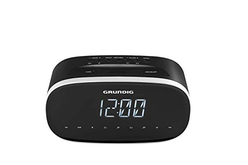 Grundig Sonoclock 3500 BT DAB+ Wecker Schwarz/DAB+ / USB-Ladefunktion/Bluetooth/UKW-Tuner/Sleep Funktion/Weckfunktion