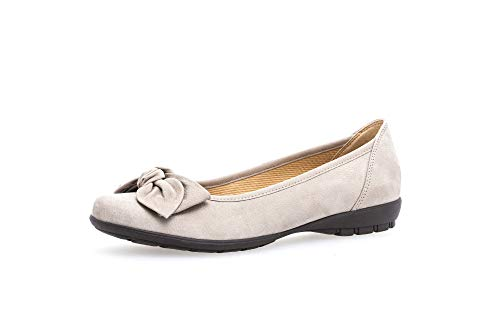 Gabor Shoes Gabor Casual, Ballerines Femme Beige (Beige Nubuck) 37 EU