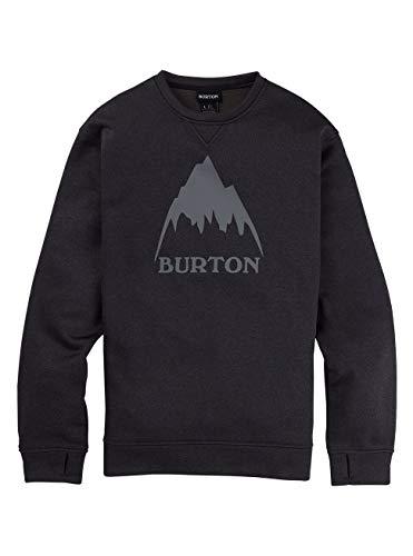 Burton Oak, Felpa Uomo, True Black Heather, S