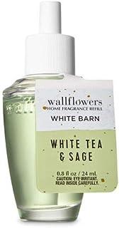 【Bath&Body Works/バス&ボディワークス】 ルームフレグランス 詰替えリフィル ホワイトティー&セージ Wallflowers Home Fragrance Refill White Tea & Sage [並行輸入品]