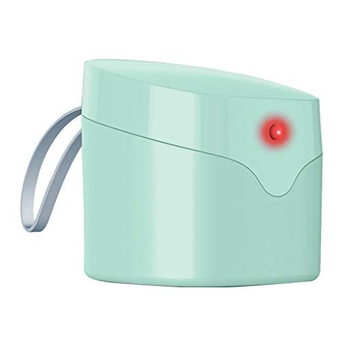 prasku Bolsa De Desinfección De Caja De Esterilizador De Luz Ultravioleta Portátil USB Esterilización para Chupete - Verde, Individual