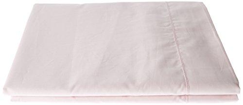 Essix Home Collection - Lenzuolo, in Percalle di Cotone, 100% Cotone Percalle, Blush, 270 x 300 cm