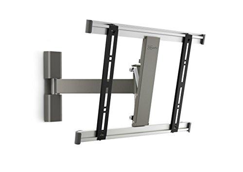 Vogel\'s THIN 225 TV-Wandhalterung für 66-140 cm (26-55 Zoll) Fernseher, 120° schwenkbar und neigbar, max. 18 kg, Vesa max. 400 x 400, grau