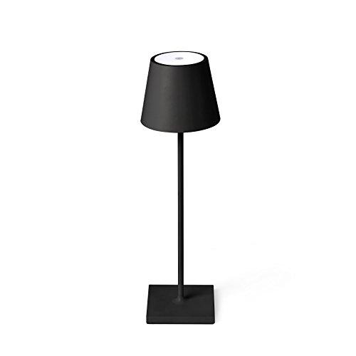 Faro lampada portatile, nero