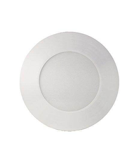 SevenOn LED 64527 Downlight LED SMD extraplano redondo, blanco mate, 4W, 120º, 300 lúmenes, 4000K, blanco neutro, IP20. No regulable.