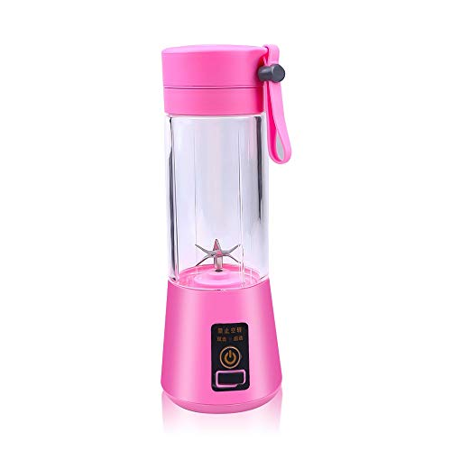 Lowest Prices! 380ml Portable Juicer Electric USB Rechargeable Smoothie Blender 6 Blades Vegetable F...