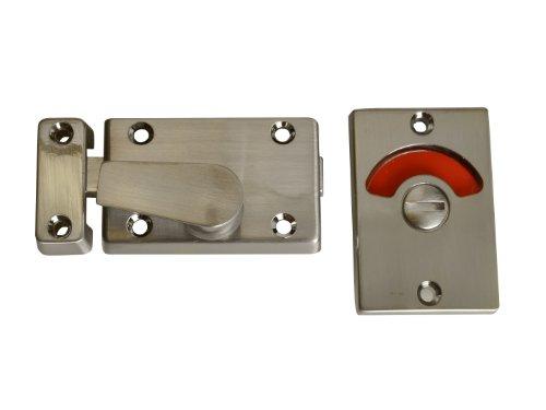 Yale Locks - Cerrojo para baños con indicador, Color Cromado [Importado de Reino Unido]