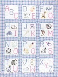 """Jack Dempsey Stamped Cloth Nursery Books 8/""""x8/"""" 12 Pages-children/'s Zoo"""