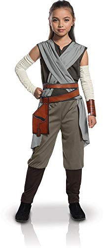 Rubie's Costume ufficiale Star Wars The Last Jedi di Rey per bambine