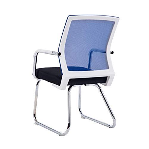 ACZZ Xuoffice silla del personal, apoyo a la Mesa de Apoyo a la cintura trasero de la silla silla de la computadora y la Cátedra de Empresa Silla Silla de oficina Relax,Azul