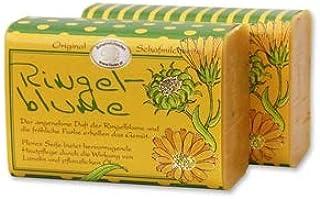 Schafmilchseife Ringelblume 100g - Florex Schafmilchseife - Hochwertige Naturseife