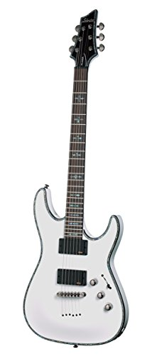 Schecter Hellraiser C-1 Electric Guitar (Gloss White)