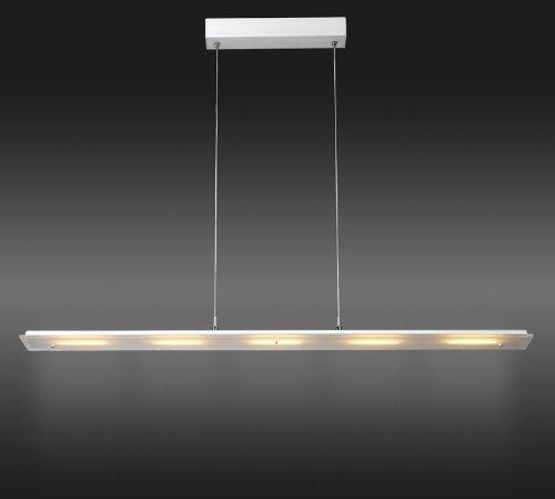 Karry Deckenlampe 60 COB LED s Lampe Leuchte Alu Glas 20 Watt 1800 Lumen Warmweiß 1204