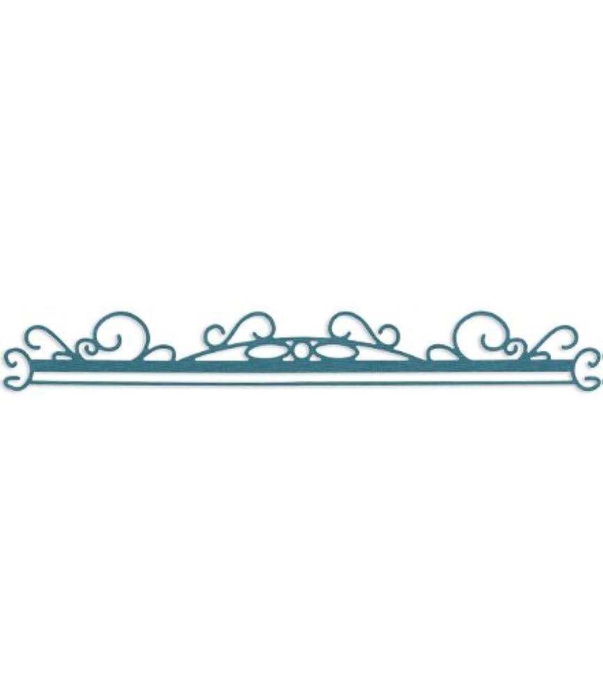 Sizzix Sizzlits Decorative Strip Die, Swirly Front