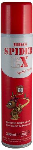 Midas Spiderex Spider Repellent Aerosol Spray for CCTV Cameras