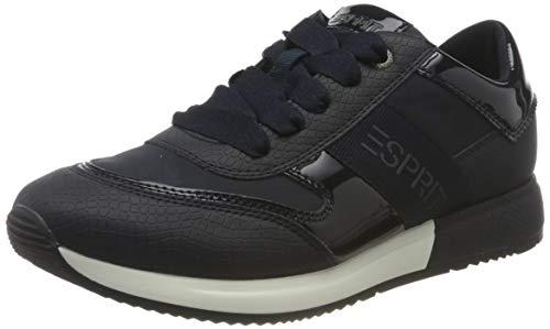 ESPRIT 080EK1W322, Zapatillas Mujer, 401 Navy 2, 39 EU
