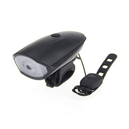 FENGSHUAI Fiets Koplampen, Multi-Functie Fiets XPG Sterke Hoofd Licht + Elektronische Bell USB Opladen Bicycle Bell