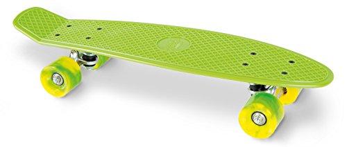 Streetsurfing Cruiser Skateboard Mixte Enfant, Vert, Taille Unique