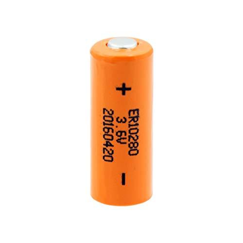 Shentop Batería De Litio ErR10280 De 3.6v 450mah, Batería De Celda De Tamaño FX2NC 32bl ER10 / 28 2 / 3AAA para Sistema De Medidores De Servicios PúBlicos 2pcs