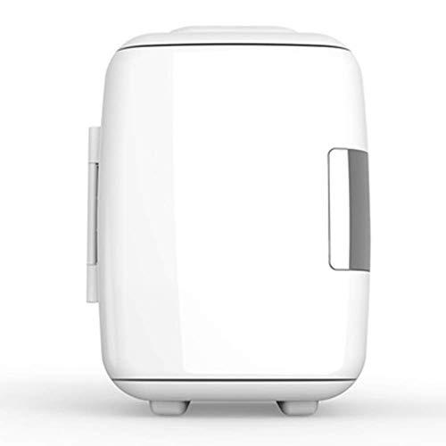LJYY Mini Nevera, Nevera eléctrica Refrigerador de Coche de Doble Voltaje 12V / 220-240V para el Coche y el hogar Refrigerador portátil para Acampar Fresco y cálido 4L para Viajar y Acampar