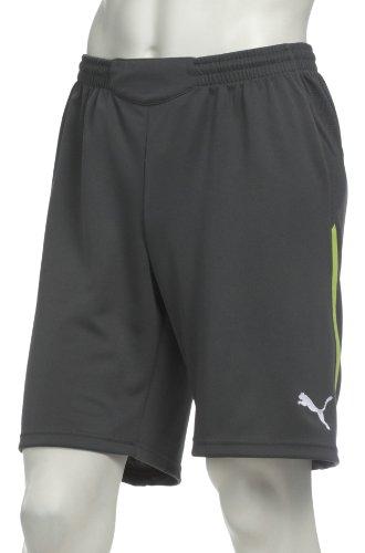 PUMA PWR-C TT 1,10Teamsport–Camiseta de Entrenamiento para Hombre, Hombre, Dark Shadow-Wild Lime-Fluo Orange, Large