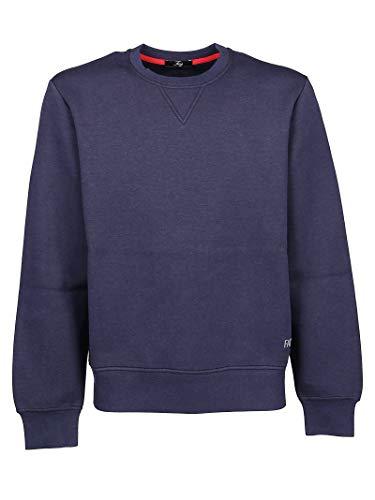 Fay Luxury Fashion Uomo NJMB5391340QEHU809 Blu Poliestere Felpa |...