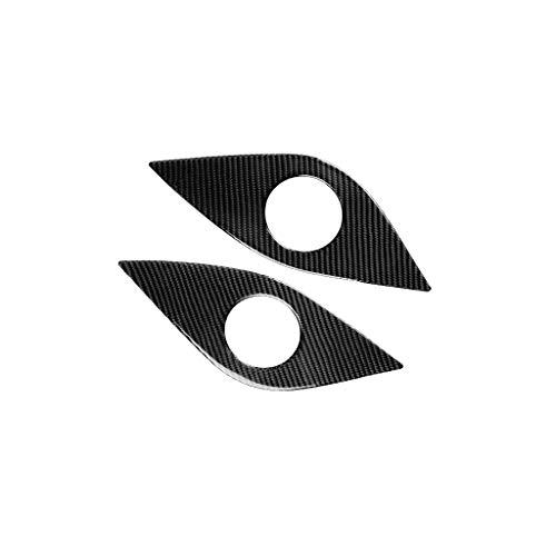 BUIDI Carbon-Aufkleber für den hinteren Lautsprecher für Chevrolet Camaro 2017-2019 2 * Autoaufkleber