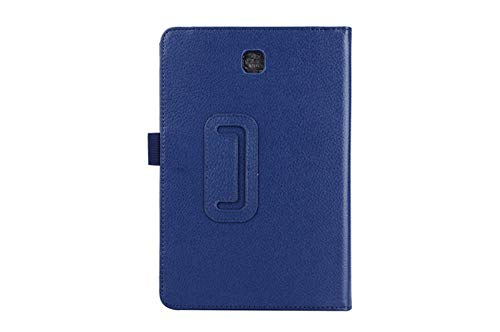 Tablet Case For Samsung Galaxy Tab A T550 T555 SM-T550 9.7 Stand PU Leather Smart Cover Case Protector-Navy Blue