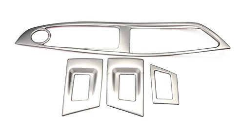 Flying High Conduite à Gauche! Couvercle de Bouton de fenêtre en Acier Inoxydable 4pcs pour BMW Série 5 F10 2011–2015