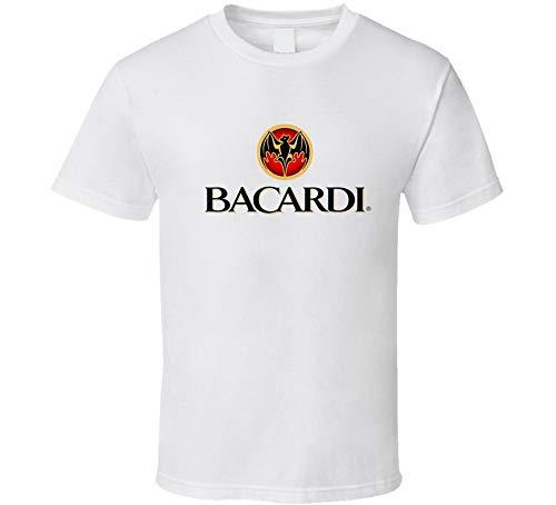 ASDFGB Bacardi Likör, Whiskey, Bier, Gin, Weiß Gr. 56, beige
