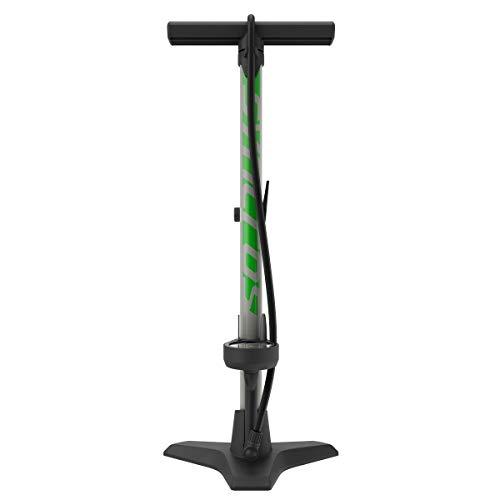 Syncros Vernon 3.0 - Bomba de pie para Bicicleta, Color Gris y Verde