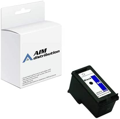 AIM Compatible Replacement for HP NO. 96 Black Inkjet (860 Page Yield) (C8767W) - Generic