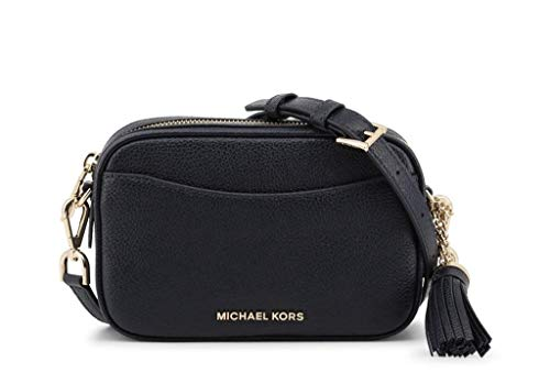 The MICHAEL Michael Kors convertible belt bag is an ultra-versatile and compact accessory, perfect for everyday wear. Crafted in genuine pebbled leather, this luxe bag features a zip fastening, logo detail and gold-tone hardware, while a slender stra...