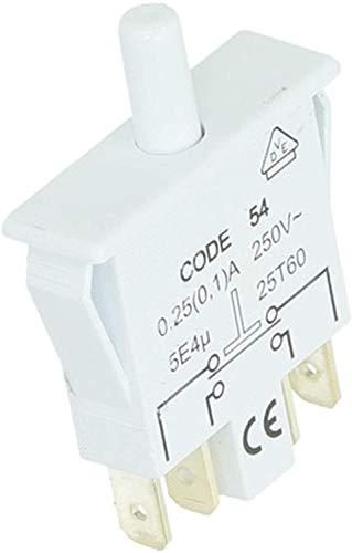 Spares2go Kühlschrank-Türschalter DEKA-B 30 für Iberna FR2D465NSL FR2D465NWH Kühlschrank
