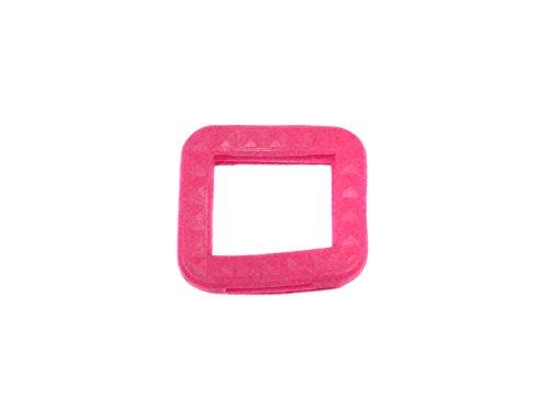 REMA Schlüsselkappen für eckige Schlüssel 25 mm x 25 mm Einzelnt und als 10er Sets (10 Kappen, Neon Pink)