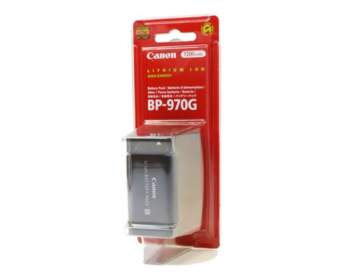 Canon BP-970G Lithium-Ion Battery (Retail Packaging)
