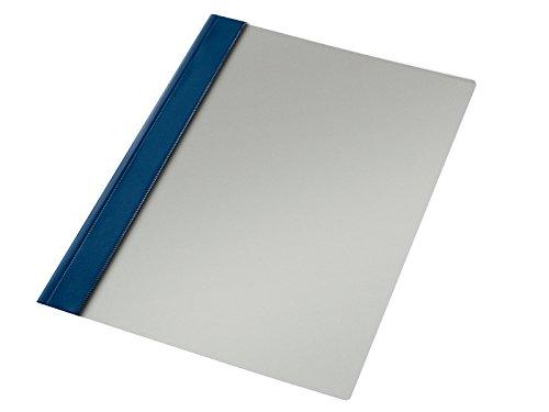 Esselte Carpeta dossier fastener, Plástico, A4, Sin tarjetero, Pack de 50, Azul marino, Modelo 132/1, 13216