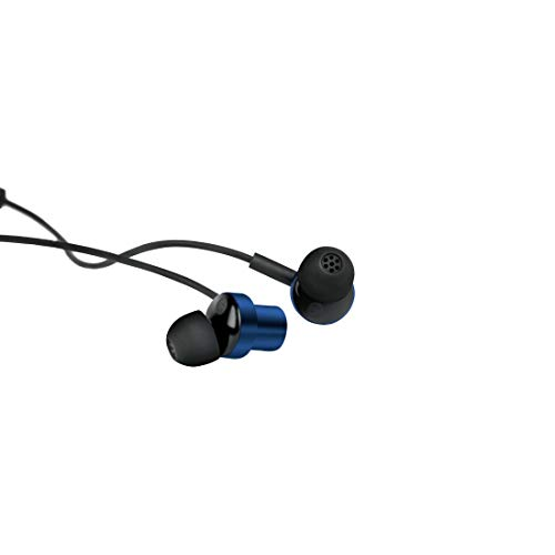 Mi Dual Driver in-Ear Earphones with Mic and Long Tangle-Free Cable(Blue)