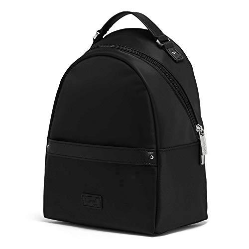 Lipault - Lady Plume Backpack - Small Over Shoulder Purse Bag for Women - Black