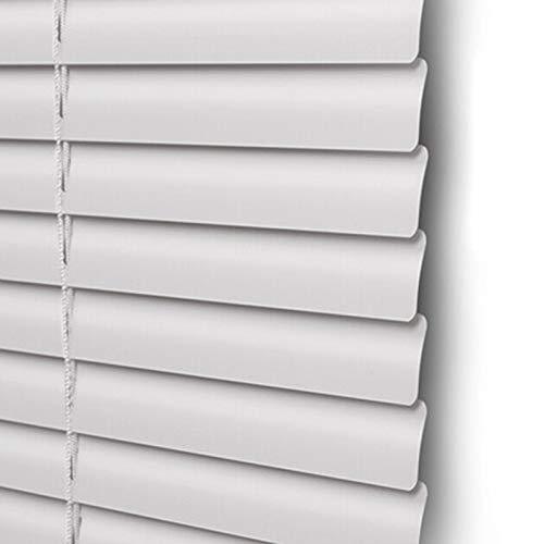 LSMK rollos & Jalousie Weiße Aluminium-Jalousien, Horizontale Verdunkelungsvorhänge für Küche, Bad, Schlafzimmer, 60cm / 80cm / 110cm / 120cm / 140cm Breit (Size : 90cm×120cm/35.4in×47.2in)